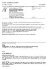 ČSN ETSI EN 301 489-19 V1.2.1 Elektromagnetická kompatibilita a rádiové spektrum (ERM) - Norma pro elektromagnetickou kompatibilitu (EMC) rádiových zařízení a služeb - Část 19: Specifické podmínky pro pohyblivé pozemské stanice určené jen pro příjem (ROMES) pracující v pásmu 1,5 GHz a zajišťující datové komunikace
