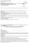 ČSN EN 10312 Svařované trubky z korozivzdorných ocelí pro dopravu vody a jiných kapalin na bázi vody - Technické dodací podmínky