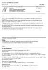 ČSN EN 13892-5 Zkušební metody potěrových materiálů - Část 5: Stanovení odolnosti potěrů, sloužících jako užitková vrstva, proti opotřebení valivým zatížením