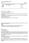 ČSN EN 1253-1 Podlahové vpusti a střešní vtoky - Část 1: Požadavky