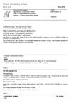 ČSN EN 50289-3-13 Komunikační kabely - Specifikace zkušebních metod - Část 3-13: Mechanické zkušební metody - Vibrace způsobené větrem