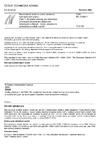 ČSN EN 13286-1 Nestmelené směsi a směsi stmelené hydraulickými pojivy - Část 1: Zkušební metody pro stanovení laboratorní srovnávací objemové hmotnosti a vlhkosti - Úvod, všeobecné požadavky a odběr vzorků