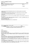 ČSN EN 1552 Důlní stroje - Mobilní porubové dobývací stroje - Bezpečnostní požadavky na důlní kombajny a pluhovací systémy