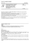 ČSN EN 81-80 Bezpečnostní předpisy pro konstrukci a montáž výtahů - Existující výtahy - Část 80: Předpisy pro zvyšování bezpečnosti existujících výtahů určených pro dopravu osob nebo osob a nákladů