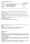 ČSN EN 13500 Tepelně izolační výrobky pro použití ve stavebnictví - Vnější tepelně izolační kompozitní systémy (ETICS) z minerální vlny - Specifikace