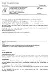 ČSN EN 10296-1 Svařované ocelové trubky kruhového příčného průřezu pro strojírenství a všeobecné technické použití - Technické dodací podmínky - Část 1: Trubky z nelegovaných a legovaných ocelí