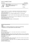 ČSN EN 13880-13 Zálivky za horka - Část 13: Zkušební metoda pro stanovení koheze a adheze přerušovaným protažením
