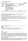 ČSN ETSI EN 301 908-1 V2.2.1 Elektromagnetická kompatibilita a rádiové spektrum (ERM) - Základnové stanice (BS), opakovače a uživatelská zařízení (UE) buňkových sítí IMT-2000 třetí generace - Část 1: Harmonizovaná EN pokrývající základní požadavky článku 3.2 Směrnice R&TTE na IMT-2000, úvod a společné požadavky