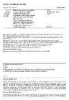 ČSN ETSI EN 301 908-7 V2.2.1 Elektromagnetická kompatibilita a rádiové spektrum (ERM) - Základnové stanice (BS), opakovače a uživatelská zařízení (UE) buňkových sítí IMT-2000 třetí generace - Část 7: Harmonizovaná EN pokrývající základní požadavky článku 3.2 Směrnice R&TTE na IMT-2000, CDMA TDD (UTRA TDD) (BS)