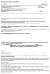 ČSN EN 13286-5 Nestmelené směsi a směsi stmelené hydraulickými pojivy - Část 5: Zkušební metody pro stanovení laboratorní srovnávací objemové hmotnosti a vlhkosti - Vibrační stůl