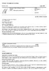 ČSN EN 60947-1 ed. 3 Spínací a řídicí přístroje nízkého napětí - Část 1: Všeobecná ustanovení