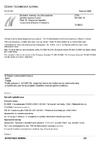 ČSN EN 993-19 Zkušební metody pro žárovzdorné výrobky tvarové hutné - Část 19: Stanovení teplotní roztažnosti diferenční metodou