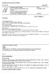 ČSN EN 60684-3-165 Ohebné izolační trubičky - Část 3: Specifikace jednotlivých typů trubiček - List 165: Vytlačované polyolefinové trubičky se zpomaleným hořením, s omezeným nebezpečím požáru