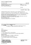 ČSN CEN ISO/TS 17892-1 Geotechnický průzkum a zkoušení - Laboratorní zkoušky zemin - Část 1: Stanovení vlhkosti zemin