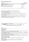 ČSN EN 13284-2 Stacionární zdroje emisí - Stanovení nízkých hmotnostních koncentrací prachu - Část 2: Automatizované měřicí systémy