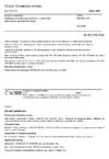 ČSN EN ISO 376 Kovové materiály - Kalibrace siloměrů používaných k ověřování jednoosých zkušebních strojů