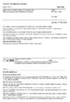 ČSN EN ISO 17189 Máslo, emulze jedlých olejů a roztíratelné tuky - Stanovení obsahu tuku (Referenční metoda)