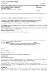 ČSN EN 13528-3 Kvalita ovzduší - Difúzní vzorkovací systémy pro stanovení plynů a par - Požadavky a zkušební metody - Část 3: Pokyn pro výběr, použití a údržbu