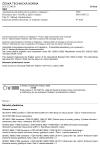 ČSN ISO 10303-21 Automatizované průmyslové systémy a integrace - Prezentace dat o výrobku a jejich výměna - Část 21: Metody implementace: Kódování nešifrovaných dat ve struktuře výměny