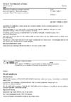 ČSN EN ISO 15609-3 Stanovení a kvalifikace postupů svařování kovových materiálů - Stanovení postupu svařování - Část 3: Elektronové svařování