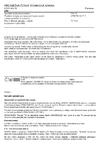 ČSN P CEN/TS 14425-5 Speciální technická keramika - Zkušební metody pro stanovení houževnatosti v lomu monolitické keramiky - Část 5: Metoda zkoušky v ohybu se zářezem V (SEVNB)