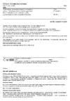ČSN EN 60609-1 Vodní turbíny, akumulační čerpadla a čerpadlové turbíny - Vyhodnocování kavitačního opotřebení - Část 1: Vyhodnocování u reakčních turbín, akumulačních čerpadel a čerpadlových turbín