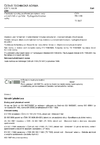 ČSN EN 1199 Chemické výrobky používané pro úpravu vody určené k lidské spotřebě - Hydrogenfosforečnan sodný