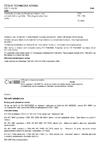 ČSN EN 1198 Chemické výrobky používané pro úpravu vody určené k lidské spotřebě - Dihydrogenfosforečnan sodný