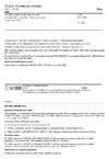 ČSN EN 12904 Výrobky používané pro úpravu vody určené k lidské spotřebě - Křemenný písek a křemenný štěrk