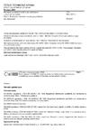 ČSN EN 12875-1 Mechanická odolnost nádobí pro domácnost v myčkách na nádobí - Část 1: Referenční zkušební metoda pro předměty pro domácnost