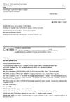 ČSN 83 9031 Technologie vegetačních úprav v krajině - Trávníky a jejich zakládání