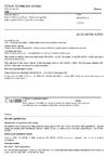 ČSN EN 60794-4 Optické kabely - Část 4: Dílčí specifikace - Nadzemní optické kabely podél elektrických silových vedení