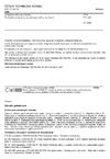 ČSN EN 469 Ochranné oděvy pro hasiče - Technické požadavky na ochranné oděvy pro hasiče
