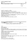 ČSN EN 14728 Vady svarových spojů termoplastů - Klasifikace