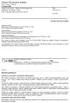 ČSN EN 62132-4 Integrované obvody - Měření elektromagnetické odolnosti, 150 kHz až 1 GHz - Část 4: Metoda přímé injekce RF výkonu