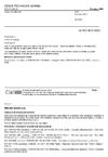 ČSN EN ISO 5912 Stany pro táboření