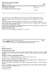 ČSN EN 13706-2 Vyztužené plasty (kompozity) - Specifikace pro tažené profily - Část 2: Metody zkoušení a obecné požadavky