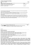 ČSN EN 14512 Nádrže pro přepravu nebezpečného zboží - Obslužné vybavení nádrží pro přepravu kapalných chemikálií - Závěsná víka průlezu a hrdlové kroužky s otočnými šrouby