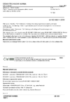 ČSN EN ISO 5667-1 Jakost vod - Odběr vzorků - Část 1: Návod pro návrh programu odběru vzorků a pro způsoby odběru vzorků