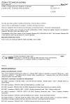 ČSN EN 10255 +A1 Trubky z nelegované oceli vhodné ke svařování a řezání závitů - Technické dodací podmínky