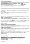 ČSN ISO 21527-2 Mikrobiologie potravin a krmiv - Horizontální metoda stanovení počtu kvasinek a plísní - Část 2: Technika počítání kolonií u výrobků s aktivitou vody nižší než nebo rovnou 0,95