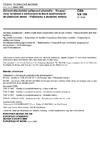ČSN EN 198 Zdravotnětechnické zařizovací předměty - Koupací vany vyrobené z odlévaných tenkých zesíťovaných akrylátových desek - Požadavky a zkušební metody