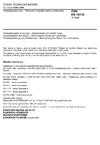 ČSN EN 15170 Charakterizace kalů - Stanovení spalného tepla a výhřevnosti