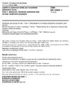 ČSN EN 12808-1 Lepidla a spárovací malty pro keramické obkladové prvky - Část 1: Stanovení chemické odolnosti malt na bázi reaktivních pryskyřic