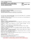 ČSN IEC TR 62271-300 Vysokonapěťová spínací a řídicí zařízení - Část 300: Hodnocení seizmické odolnosti vypínačů střídavého proudu