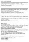 ČSN EN 13501-5 +A1 Požární klasifikace stavebních výrobků a konstrukcí staveb - Část 5: Klasifikace podle výsledků zkoušek střech vystavených vnějšímu požáru