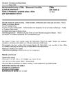 ČSN EN 1849-2 Hydroizolační pásy a fólie - Stanovení tloušťky a plošné hmotnosti - Část 2: Plastové a pryžové pásy a fólie pro hydroizolaci střech