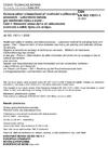 ČSN EN ISO 15011-1 Ochrana zdraví a bezpečnost při svařování a příbuzných procesech - Laboratorní metody pro vzorkování dýmu a plynů - Část 1: Stanovení emise dýmu při obloukovém svařování a odběr dýmu pro analýzu