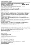 ČSN EN ISO 15011-2 Ochrana zdraví a bezpečnost při svařování a příbuzných procesech - Laboratorní metody pro vzorkování dýmu a plynů - Část 2: Stanovení emisní rychlosti oxidu uhelnatého (CO), oxidu uhličitého (CO2), oxidu dusnatého (NO) a oxidu dusičitého (NO2) při obloukovém svařování, řezání a drážkování