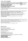 ČSN EN ISO 15011-3 Ochrana zdraví a bezpečnost při svařování a příbuzných procesech - Laboratorní metody pro vzorkování dýmu a plynů - Část 3: Stanovení emisní rychlosti ozonu při obloukovém svařování